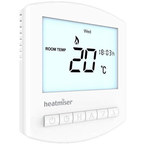Digital Thermostat - Heatmiser Slimline